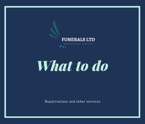 What to do when death occurs in UK?